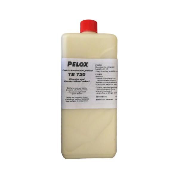 Pelox TE 720 - čistící a konzervační pasta pro povrchy z korozivzdorné oceli, 1000 g
