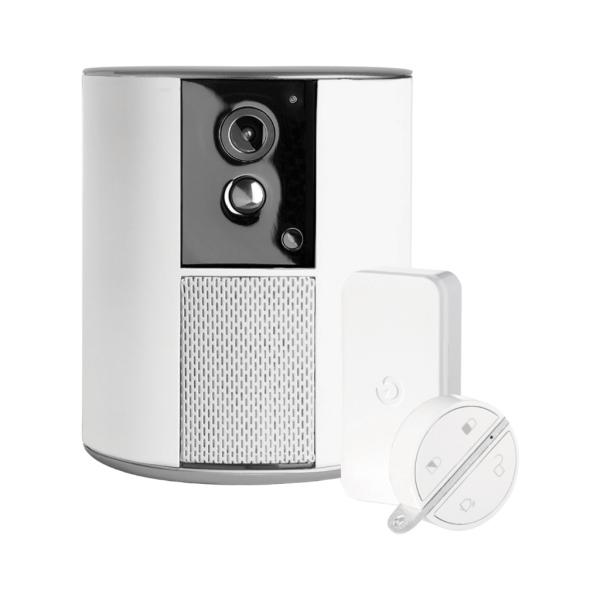 Somfy One+ – prémiové bezpečnostní řešení včetně sirény, bezpečnostní kamery a pohybového čidla