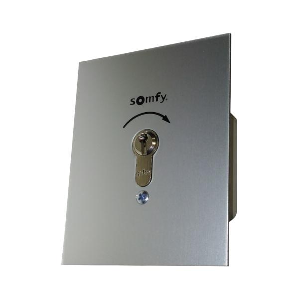 Klíčový spínač Somfy bez aretace, montáž pod omítku