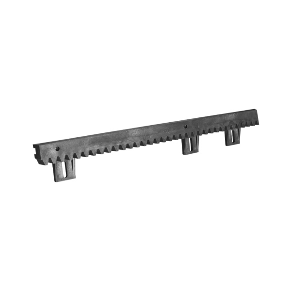Vodící hřeben nesené brány V/6 plastový s ocelovým jádrem 1m, tloušťka 20 mm