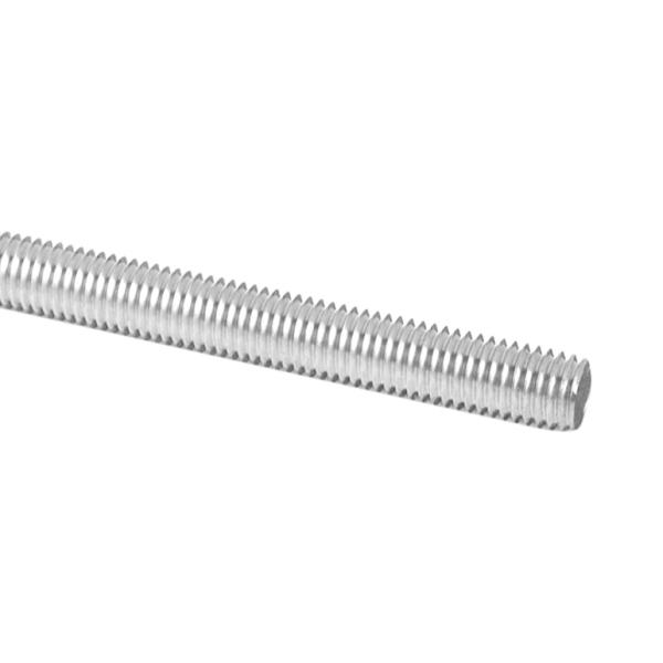 Závitová ocelová tyč M12, délka 100 cm, galvanicky pozinkováno, pro zábradlí, schodiště a brány