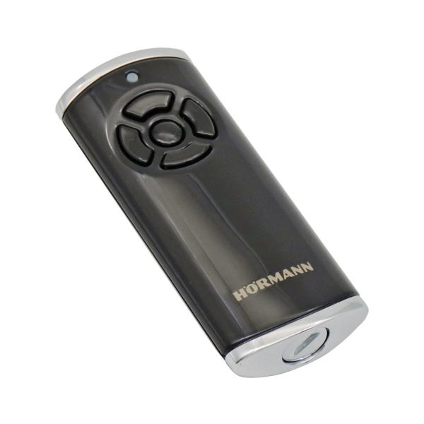 HORMANN HS 5 BS 436764 - dálkový ovladač pohonu brány a vrat, 4-kanálový 868 MHz BiSecur, obousměrný, lesklý černý