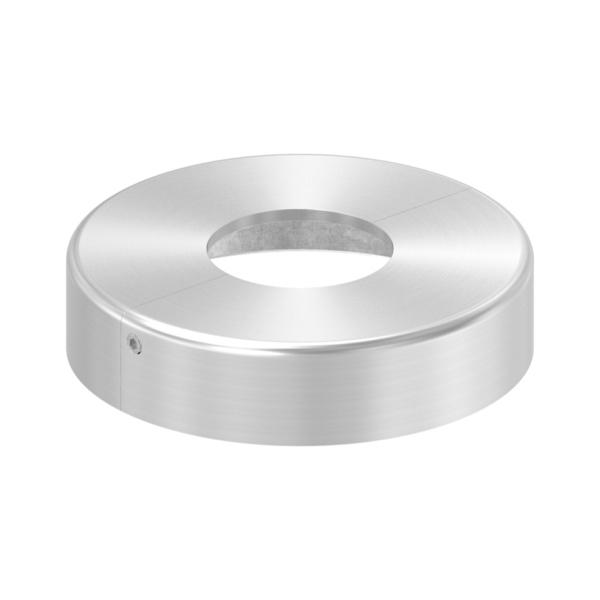 50152-240-ZT - nerezová rozeta pro sloupek pr. 42,4 mm, 107 x 25 mm, dvoudílná, pro nerezové zábradlí