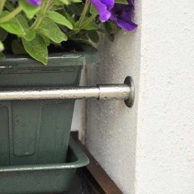 Nerezová rozpěrná zábrana na truhlík pro okno do 2000mm, pr. 20mm