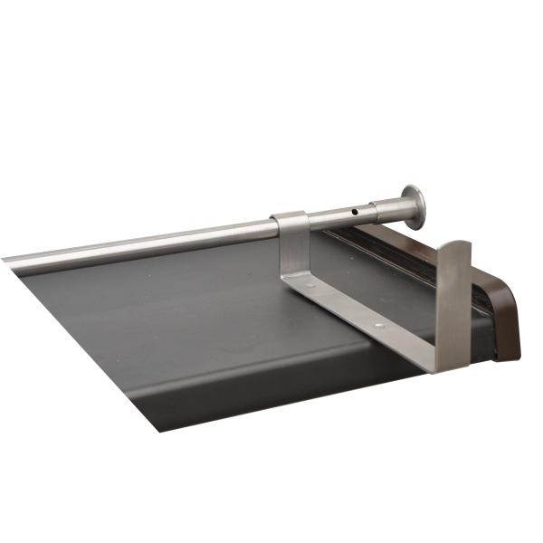 Nerezový pomocný držák truhlíku k rozpěrné zábraně pro pr. 12mm