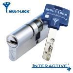 MUL-T-LOCK Interactive+ - Cylindrická vložka, 4. bezpečnostní třída, 5 klíčů / Poměr délek:40/40mm