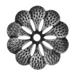 Ozdobný květ pro kovaný plot, bránu a zábradlí 50.049, 95 x 2 mm